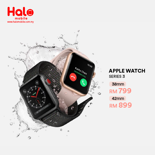 Apple Watch Series 3 || Halomobile