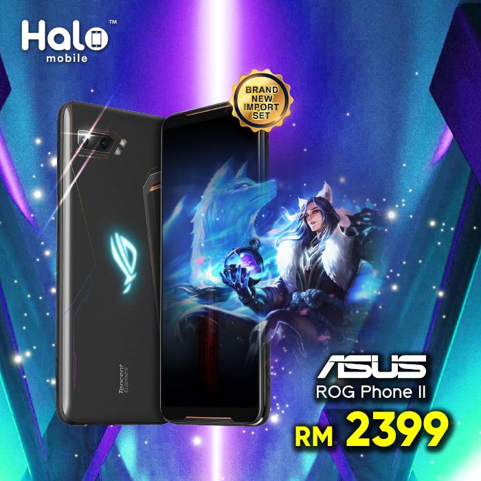 Asus Rog Phone II || Halomobile